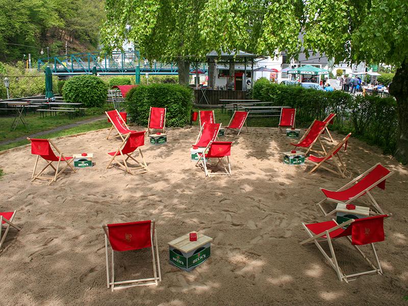 Strandcafe Beach Area
